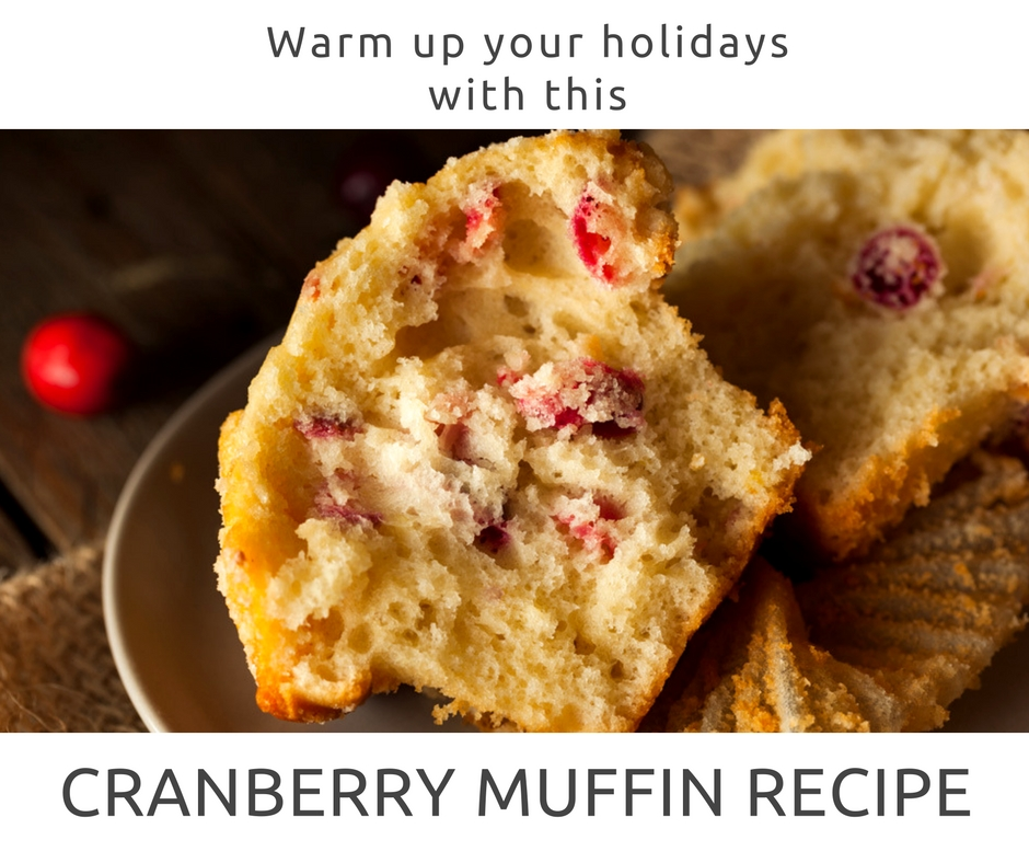 Easy Cranberry Muffin Recipe