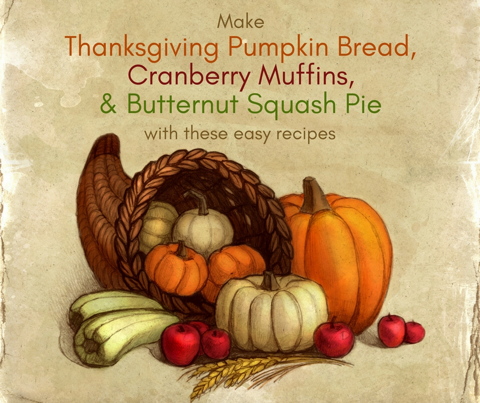 Thanksgiving Recipes and Thanksgiving History
