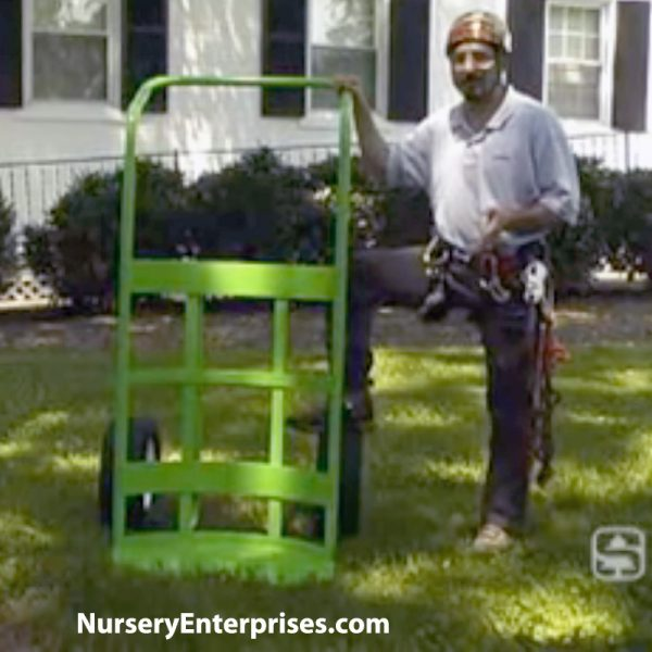 large potted plant hand truck | landscape tree dolly hand truck | Nursery Enterprises