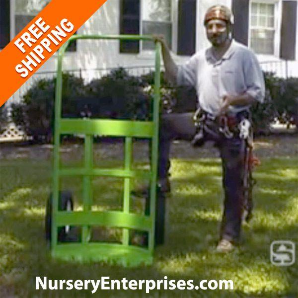 Large Potted Plant Hand Truck | Landscape Hand Truck | Nursery Enterprises