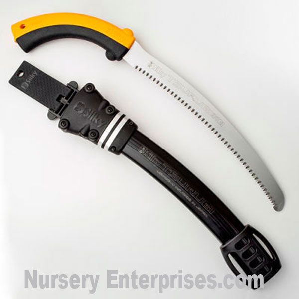 Silky TSURUGI Curve 270mm, medium teeth saw and scabbard