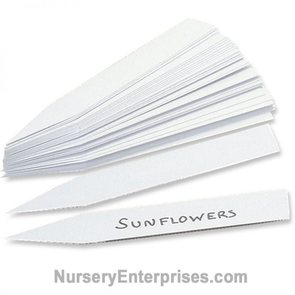 "Plastic Plant Labels - 1 1/4"" x 8"" 