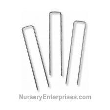 75 Weed Cloth Stapes - 6 inch | Nursery Enterprises