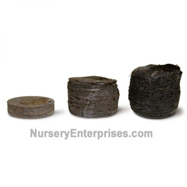 Fertilized Peat Pellets Expand With Water | Nursery Enterprises