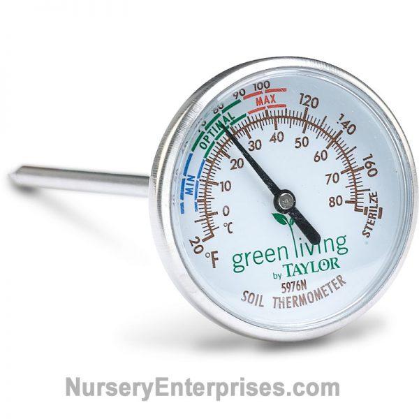 Easy to read Soil Thermometer | Nursery Enterprises