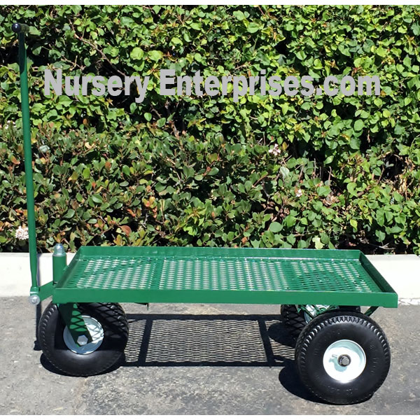 Flat Deck 3 Wheel Cart | Nursery Enterprises