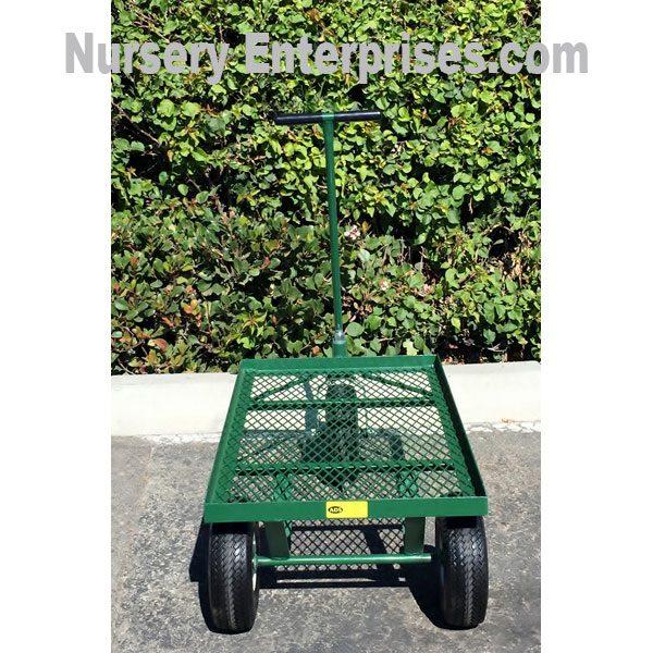 Flat Mesh Deck 3 Wheel Cart | Nursery Enterprises