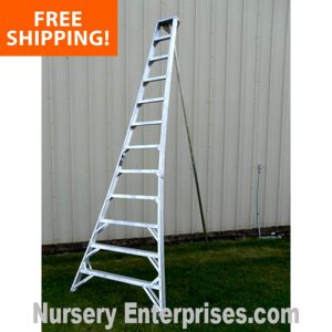 12 FOOT TRIPOD LADDER, ORCHARD LADDER, TRIPOD LADDERS